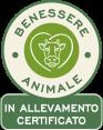 Benessere animale in allevamento certificato