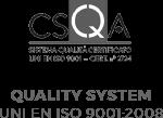 Quality system UNI EN 9001:2008