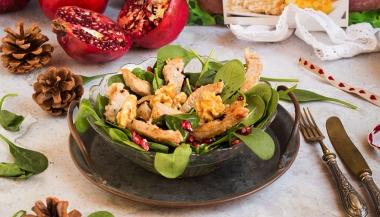 Caesar salad natalizia