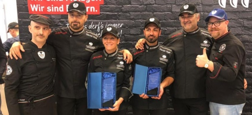 The Italian National Butchers Team became the european champion